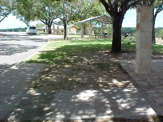 View of Gillespie County Safety Rest Area on Ranch Road 1 near Stonewall
