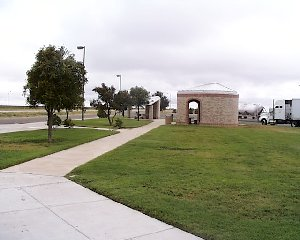 View of Howard County rest area