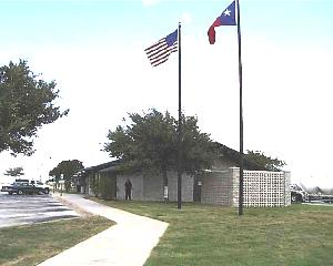 View of Live Oak County Safety Rest Area