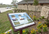 Outdoor interpretive display of native flora and fauna