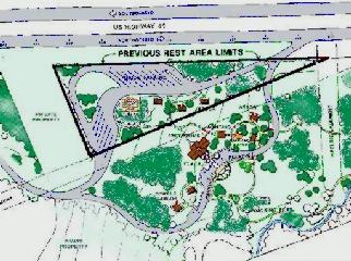 Sketch of the Northbound site plan
