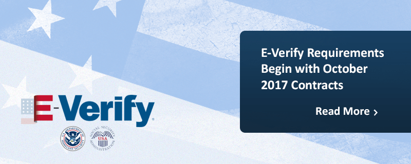 E-Verify Begins October 2017
