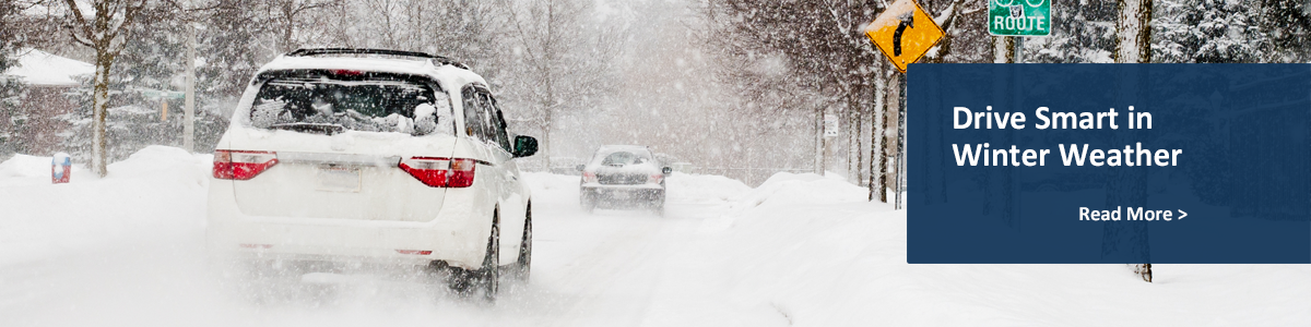 Drive Smart in Winter Weather