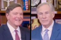 Texas Transportation Commission Chairman J. Bruce Bugg, Jr. interviews Texas Governor Greg Abbott