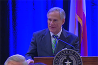 Governor Abbott recognizes Bruce Bugg video