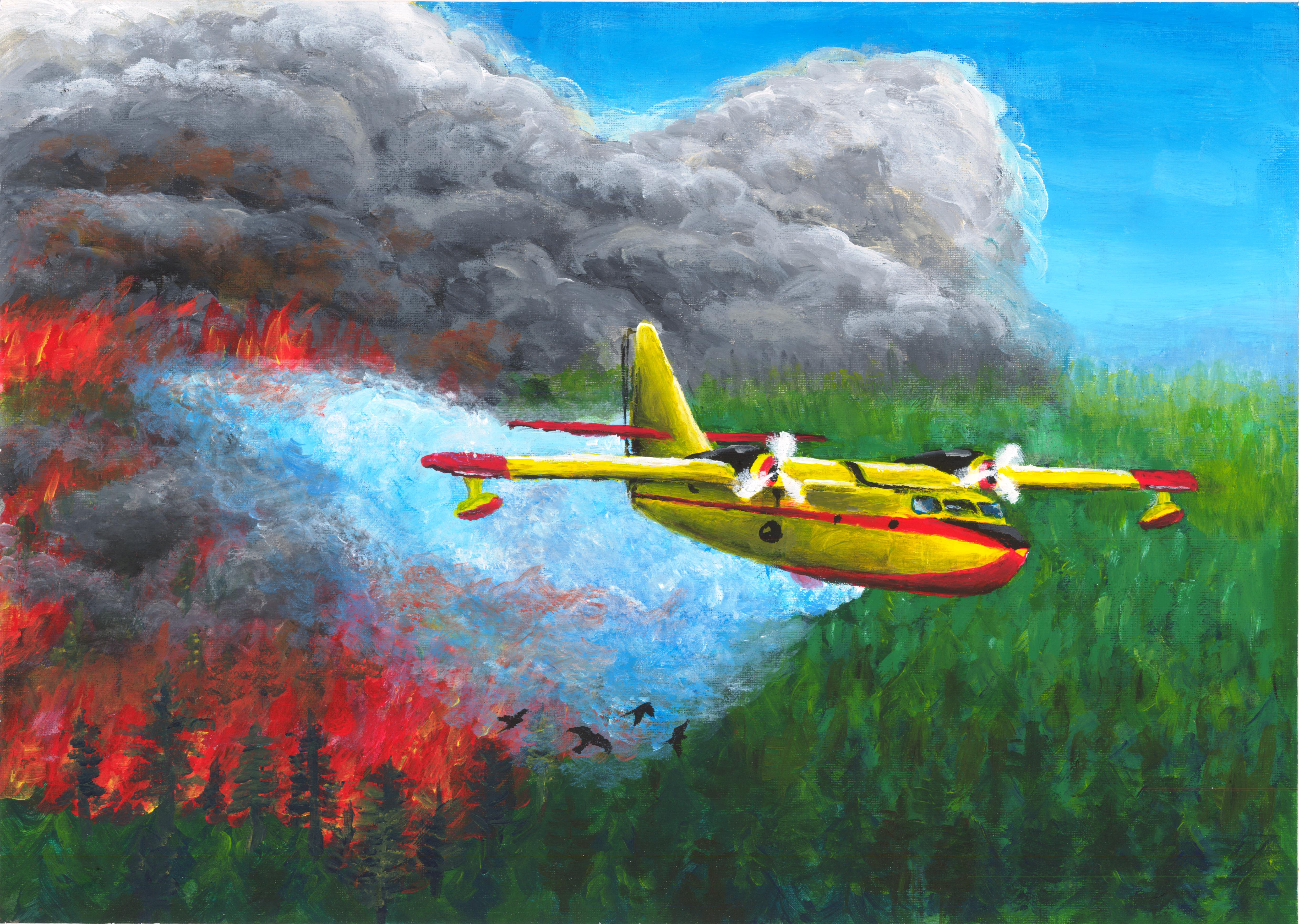 2014 Aviation Art Contest