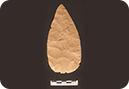 Late Archaic (ca. 4,000 B.P.)  Hafted Knife from the Gatlin Site