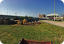 Panoramic view of the Frost Town excavation area, located just north of Minute Maid Ballpark.