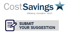 Cost Savings Suggestion Form