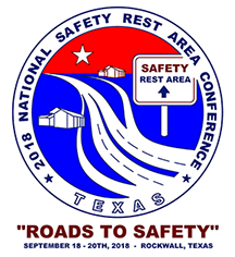 2018 National Safety Rest Area Conference logo