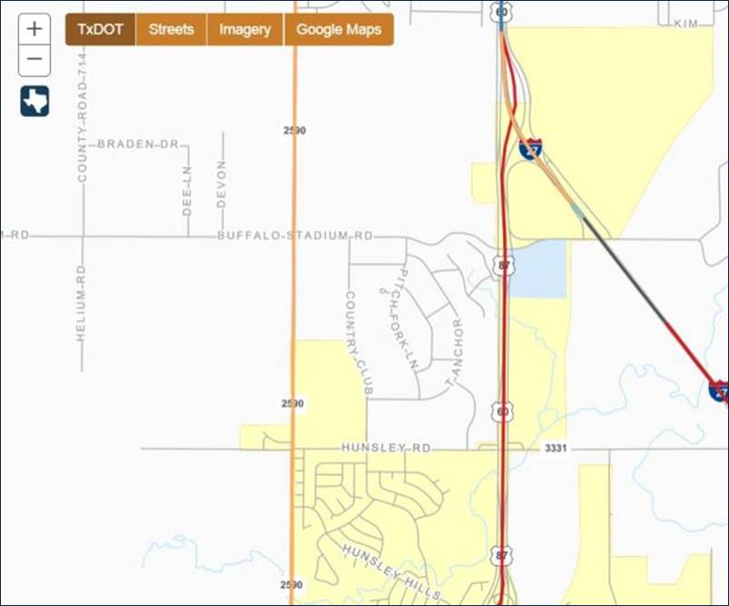 Improvements To Us 60 In Canyon And Sl 335 To Begin - Us-60-map
