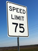 75 MPH Speed Limit