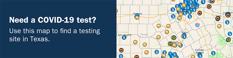 Need a COVID-19 test? Use this map to find a testing site in Texas.