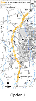 Nacogdoches County Revised Map