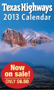 Texas Highways Calendar Sale