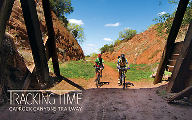 Tracking Time Caprock Canyons Trailway